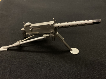 VINTAGE ACTION MAN - 30 Cal Machine Gun & Tripod